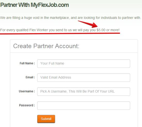 IncomeSnap MyFlexJob Partner