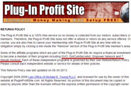 Stone Evans Plug-in Profit Site Review: No Need To Plug It | - Begin