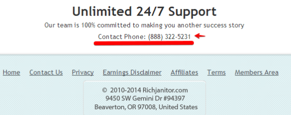 RJ phone support