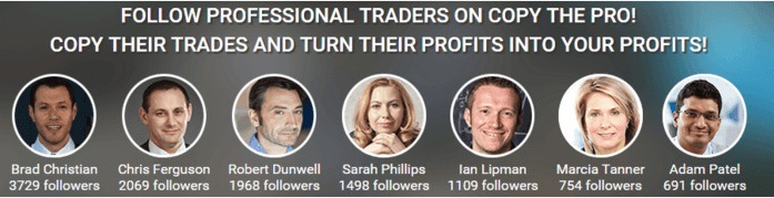 Copy The Pro Pro Traders