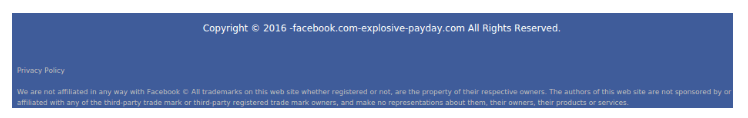 explosivepayday not endorsed
