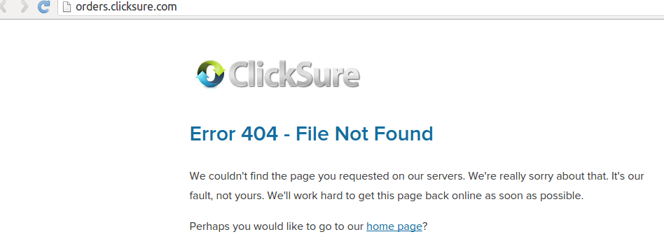 Clicksure Support