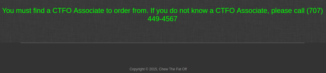 chew the fat off contact
