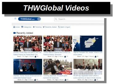 thwglobal videos r