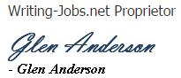 Writing Jobs Glen Anderson