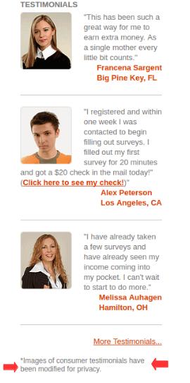 Paid Surveys At Home Their Testimonial