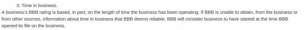 BBB MLOJ Time Of Business