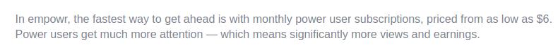 Empowr Starts Paying At