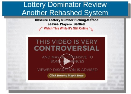 Lottery Dominator Review