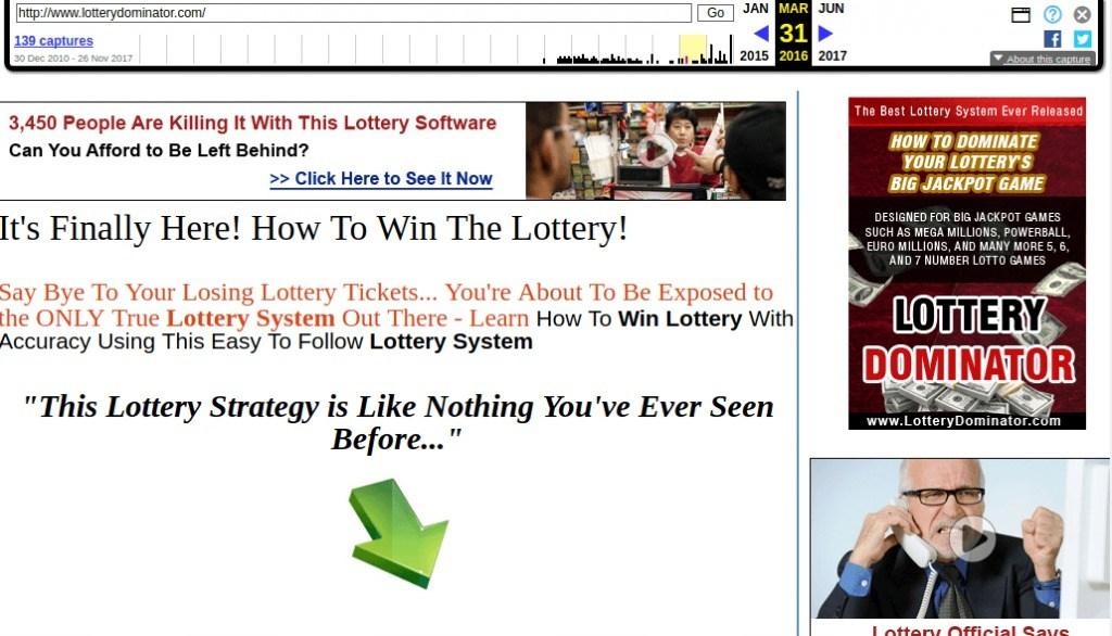 lotterydominator wbm