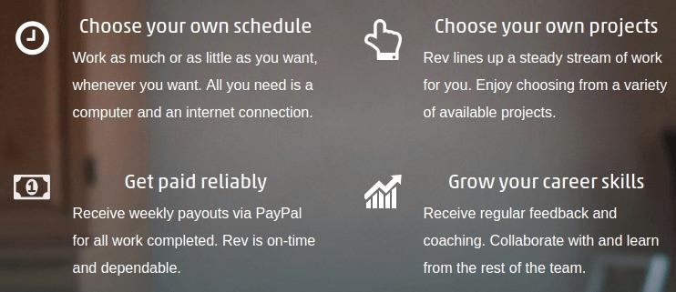 Rev career path