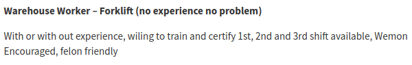 simplyhired no experience