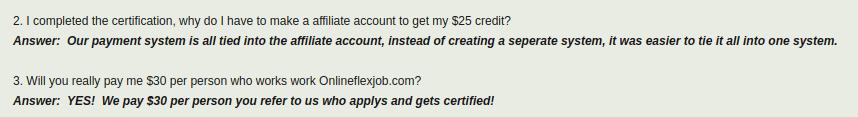 onlineflexjob monies