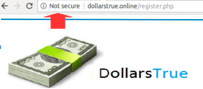 Dollars True Is Not Secure