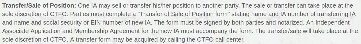 ctfo ownership
