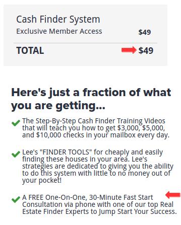 CashFinderSystem Price