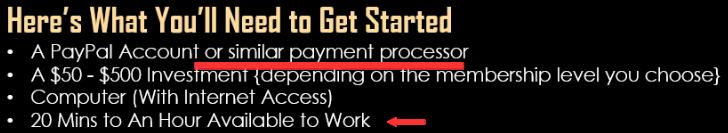 InstantCashSolution work little hours