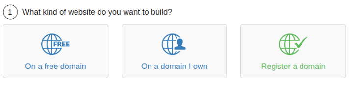WA website builder