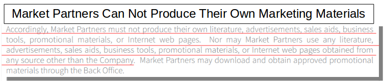 MG market rules