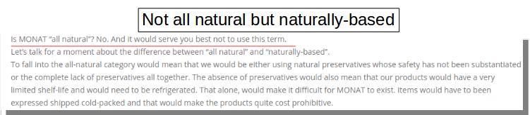 MG naturally based