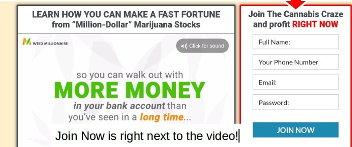 weed millionaire place info
