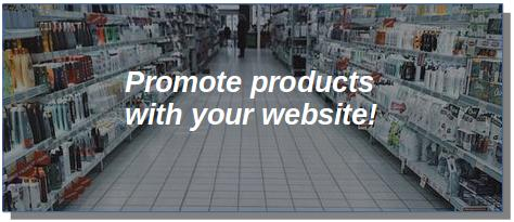 products for a website
