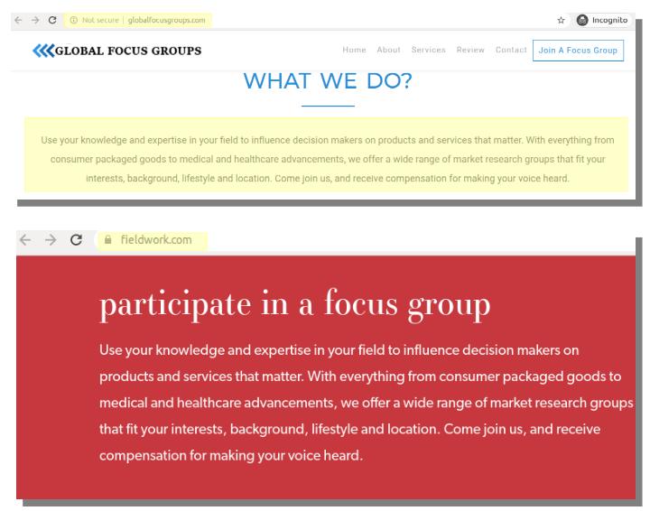 global focus groups wwd